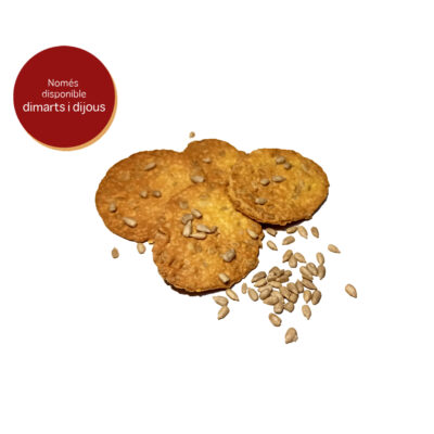 galetes de blat de moro x 10