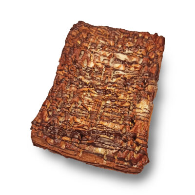 coca de Sant Joan de full amb xocolata